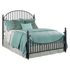 Weatherford Cornsilk Catlins King Metal Bed - Complete