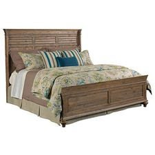 Weatherford - Heather Shelter King Bed - Complete