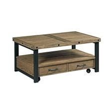 Workbench Small Rectangular Cocktail Table