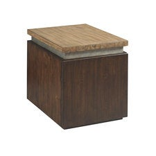 Modern Origins Cube End Table