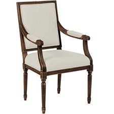 Artisans Shoppe French Arm Chair Tobacco