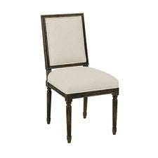 FRENCH SIDE CHAIR BLACK FOREST