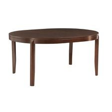 Tribecca Round Leg Table-Kd Standard Leaf