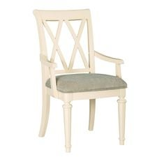 Camden Buttermilk Splat Arm Chair-Kd
