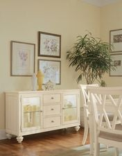 Camden Buttermilk China Buffet/Credenza