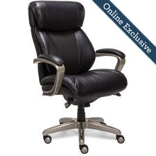 Salerno Executive Office Chair, Noir