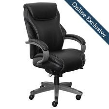 Hyland Executive Office Chair, Jet Noir