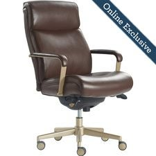 Melrose Executive Office Chair, Marron
