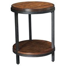 Baja Round End Table