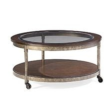 Structure Round Cocktail Table