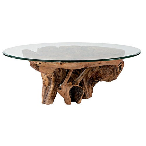 Root Coffee Table For Sale: Hidden Treasures Root Ball Cocktail Table