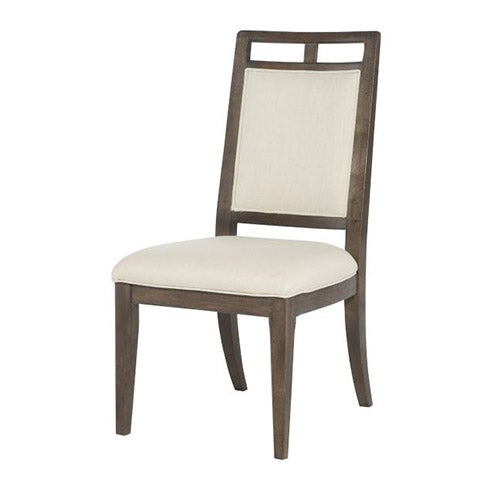 Wood back side chair for La z boy dining room chairs
