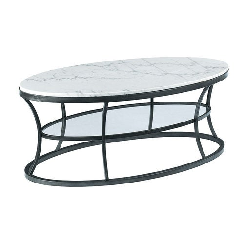 Parker Oval Marble Coffee Table Reviews: Impact Oval Cocktail Table