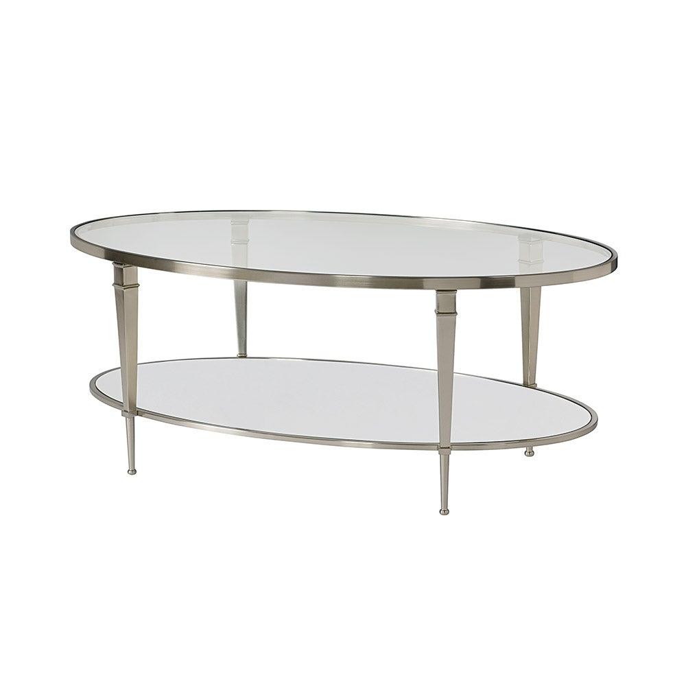 Mallory Oval Cocktail Table La Z Boy