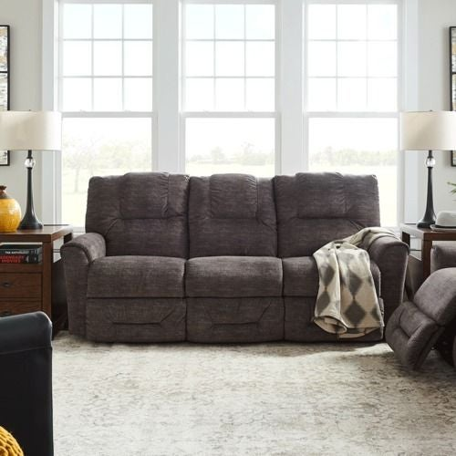 Easton Power Reclining Sofa W Headrest La Z Boy