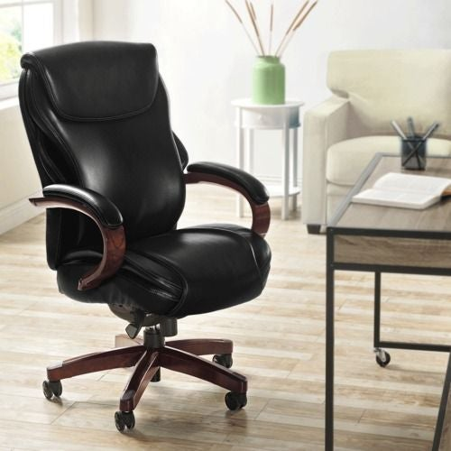 (Online Exclusive) Hyland Executive Office Chair, Negro