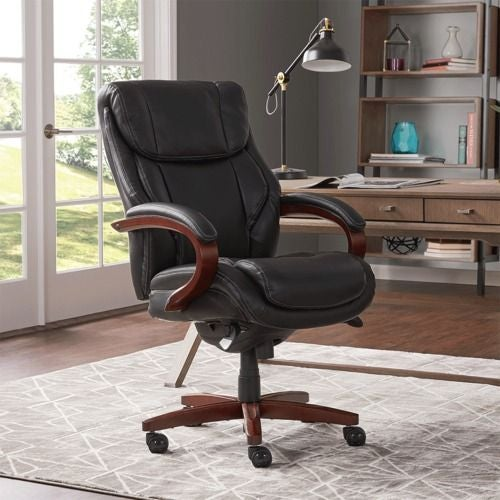 (Online Exclusive) Bellamy Executive Office Chair, Black