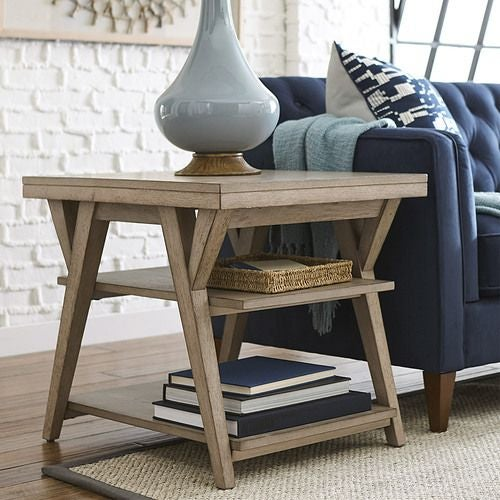 Exposition Rectangular End Table