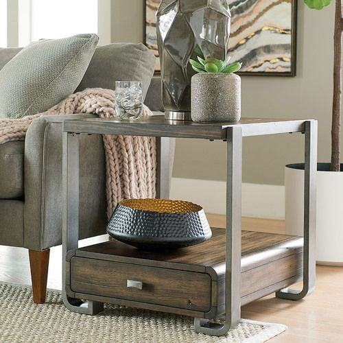 Bryson Rectanuglar Drawer End Table