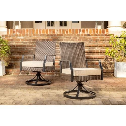 Addyson 2PK Swivel Rocker w/Cushion
