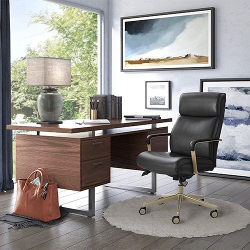 (Online Exclusive) Melrose Executive Office Chair, Black