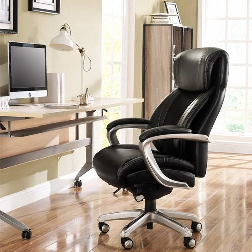(Online Exclusive) SalernoExecutive Office Chair, Black