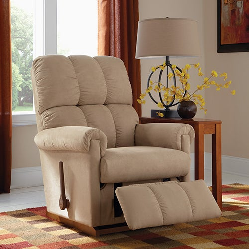 The best seat in the house is back by popular demand! Whether you're watching the big game, relaxing after a long day, or just kicking back with family, the Legacy Rocker Recliner lets you indulge in La-Z-Boy's renowned comfort and quality--delivered straight to your door for an amazing value, with standard Shipping and Handling included!