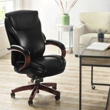 Hyland Executive Office Chair, Black