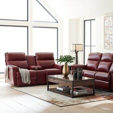 Jay PowerRecline™ La-Z-Time Full Reclining Loveseat W/ Middle Console