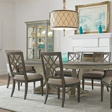 Savona Friedrick Dining Table Complete