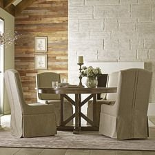Mill House Barrier Slip Covered Dining Chair