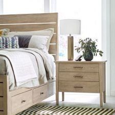 Symmetry Boulder Large Nightstand