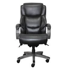Delano Big & Tall Executive Office Chair, Jet Noir