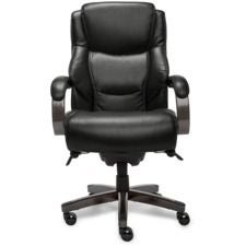 Delano Big & Tall Executive Office Chair, Jet Negro