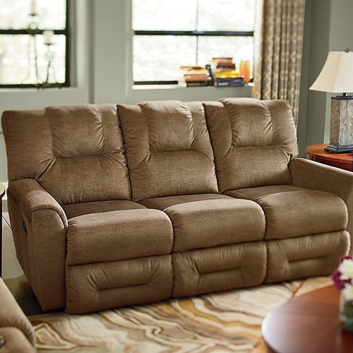 Lazy Boy Dual Reclining Sofa La Z Boy James Reclining Sofa Harris Family Furniture Thesofa