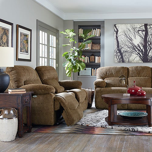 & Asher PowerRecline La-Z-Time® Full Reclining Sofa islam-shia.org