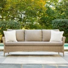 Laurel Sofa w/ Natural Tan Cushion