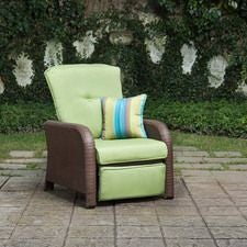 Sawyer Patio Recliner, Cilantro Green