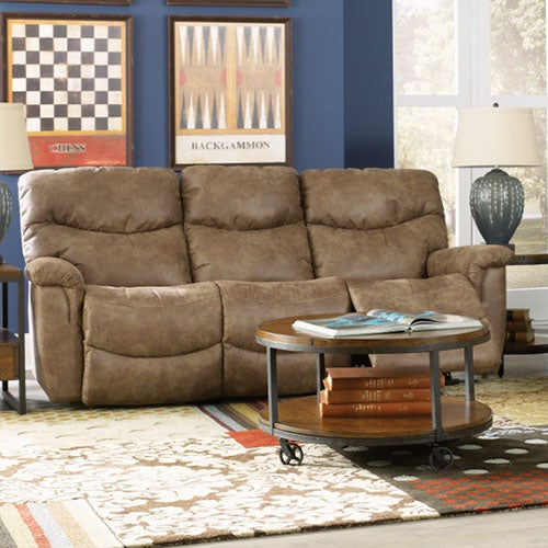 James La-Z-Time® Full Reclining Sofa : double lazy boy recliner - islam-shia.org