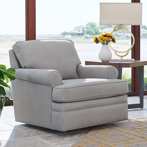 Roxie Swivel Chair | Tuggl