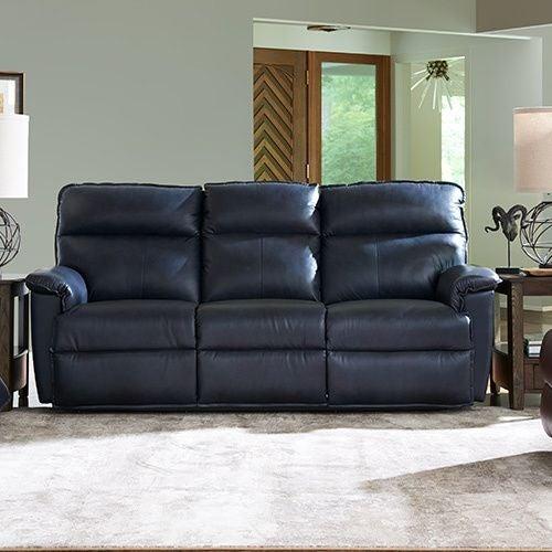 Reclining Sofa W Headrest La Z Boy