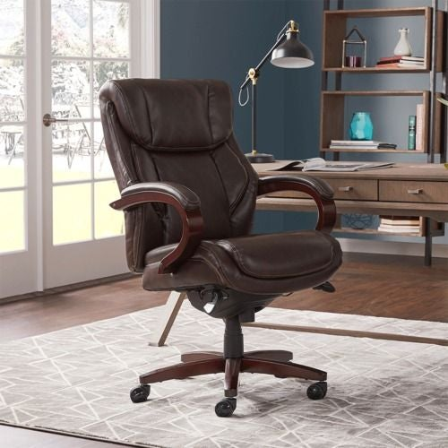 Bellamy Executive Office Chair Brown La Z Boy