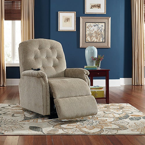 Ally Silver Luxury Lift 174 Power Recliner