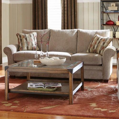 Lazy Boy Leather Sofas For Sale: Natalie Premier Sofa