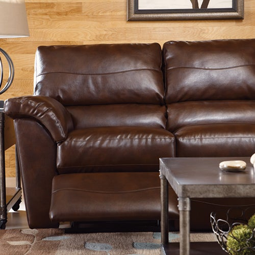 Reese powerrecline la z time full reclining sofa Leather lazy boy sofa