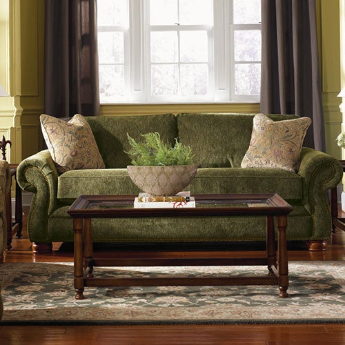Pembroke Premier Sofa W Brass Nail Head Trim