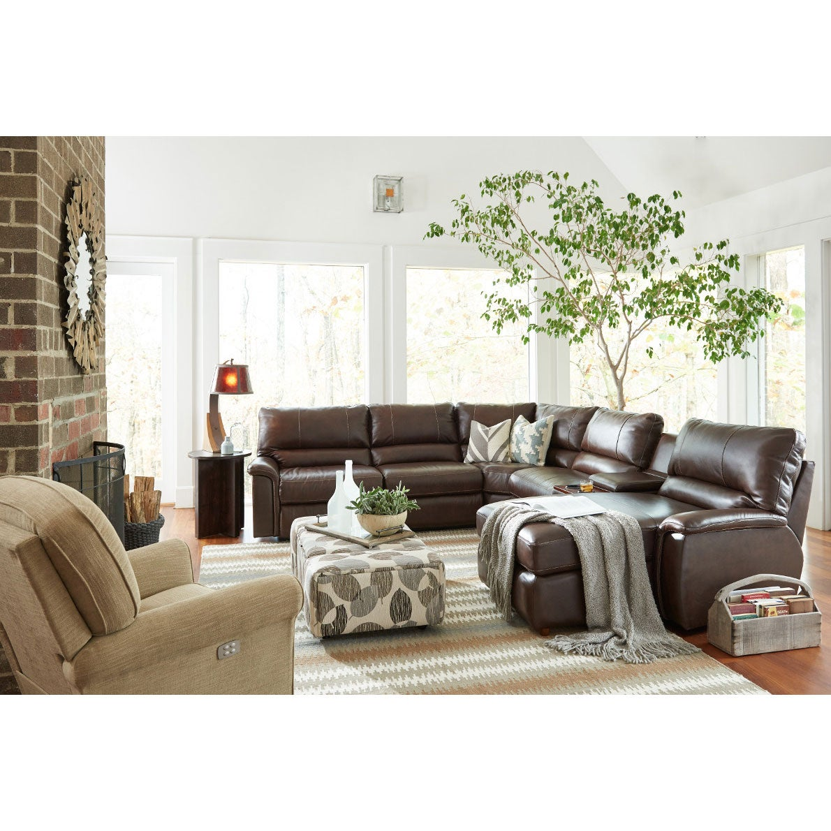 Aspen Sectional La Z Boy