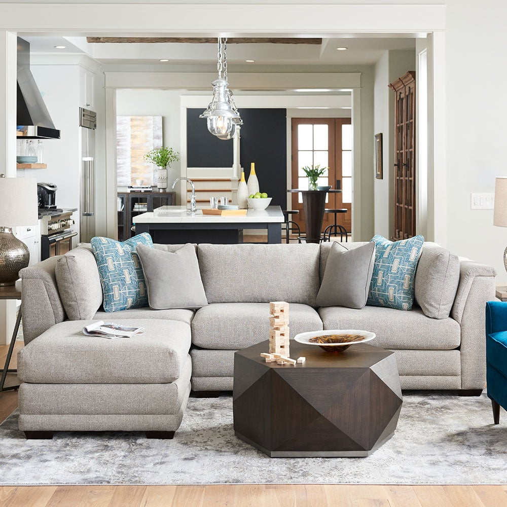 Lazy Boy Reclining Leather Sectional