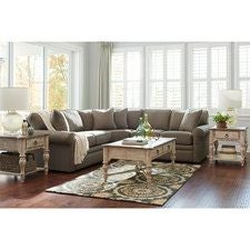 Collins Sectional With Sleeper - Collins sectional sleeper sofa
