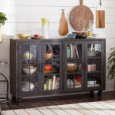Hidden Treasures Trolley Door Cabinet
